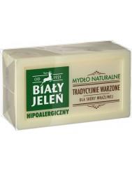 Biały Jeleń Hipoalergiczne Naturalne Mydło w Kostce 150 g
