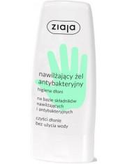 Ziaja Nawilżający Antybakteryjny Żel do Rąk 60 ml - odświeża i pielęgnuje skórę, czyści dłonie bez użycia wody