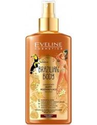 Eveline Luksusowy Złoty Rozświetlacz do Ciała 5-w-1 Brazilian Body 150 ml - do każdego rodzaju karnacji