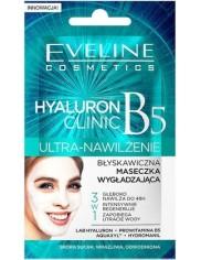 Eveline Błyskawiczna Maseczka Wygładzająca 3-w-1 Ultra Nawilżenie B5 Hyaluron Clinic 7 ml