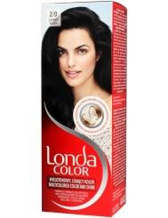 Londa Farba Koloryzująca 2-0 Czarny – nadaje włosom wielotonowy kolor nawet na 8 tygodni