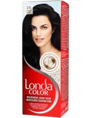 Londa Farba Koloryzująca 2/0 Czarny – nadaje włosom wielotonowy kolor nawet na 8 tygodni
