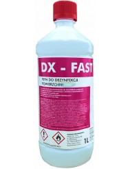 DX – FAST Płyn do Dezynfekcji Powierzchni bez Kontaktu z Żywnością 1 L