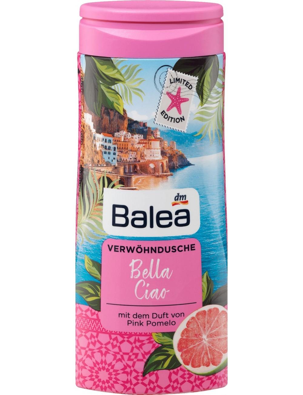Balea Żel pod Prysznic o Zapachu Różowego Pomelo Bella Ciao 300 ml (DE)