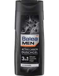 Balea Żel pod Prysznic dla Mężczyzn z Aktywnym Węglem 3-w-1 Active Carbon 300 ml (DE)