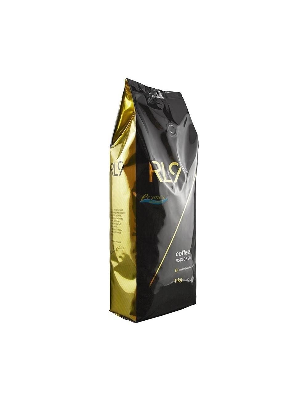 RL9 Kawa Naturalna Palona Ziarnista Arabika Espresso 1 kg