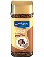 Movenpick Kawa Rozpuszczalna Liofilizowana w Słoiku Arabika Gold Original 200 g