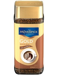 Movenpick Kawa Rozpuszczalna Liofilizowana w Słoiku Arabika Gold Original 100 g