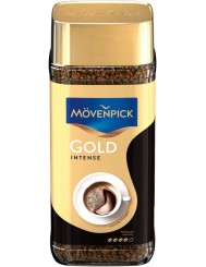 Movenpick Kawa Rozpuszczalna Liofilizowana w Słoiku Gold Intense 200 g