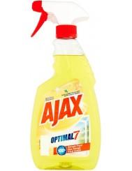 Ajax Płyn do Mycia Szyb z Pompką Optimal 7 Cytryna 500 ml