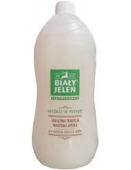 Biały Jeleń Hipoalergiczne Mydło w Płynie dla Skóry Wrażliwej Zapas 1 L