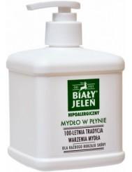 Biały Jeleń Hipoalergiczne Mydło w Płynie dla Każdego Rodzaju Skóry z Pompką 500 ml