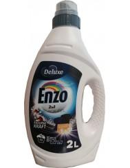 Deluxe Enzo Żel do Prania Tkanin Ciemnych i Czarnych 2-w-1 2 L (50 prań) (DE, GB)