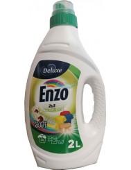 Deluxe Enzo Żel do Prania Tkanin Kolorowych 2-w-1 2 L (50 prań) (DE, GB)