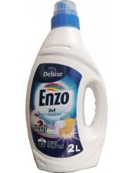 Deluxe Enzo Żel do Prania Tkanin Białych i Kolorowych 2-w-1 2 L (50 prań) (DE, GB)