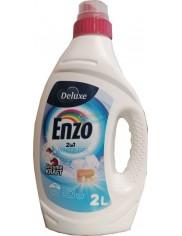 Deluxe Enzo Żel do Prania Tkanin Jasnych i Białych 2-w-1 2 L (50 prań) (DE, GB)