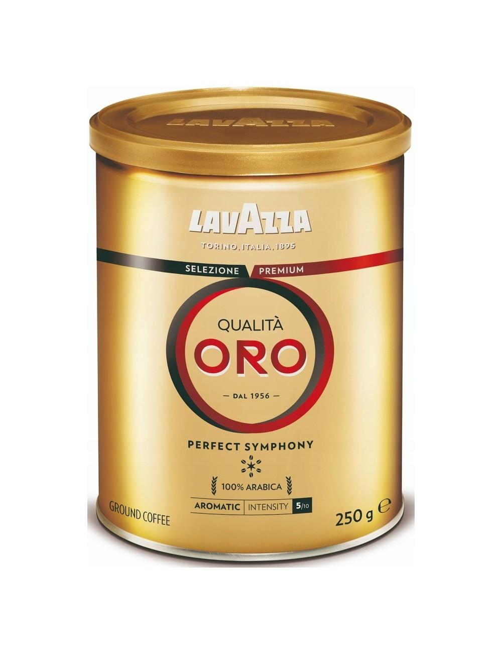 Lavazza Qualita Oro Włoska Kawa Mielona w Puszce 250 g