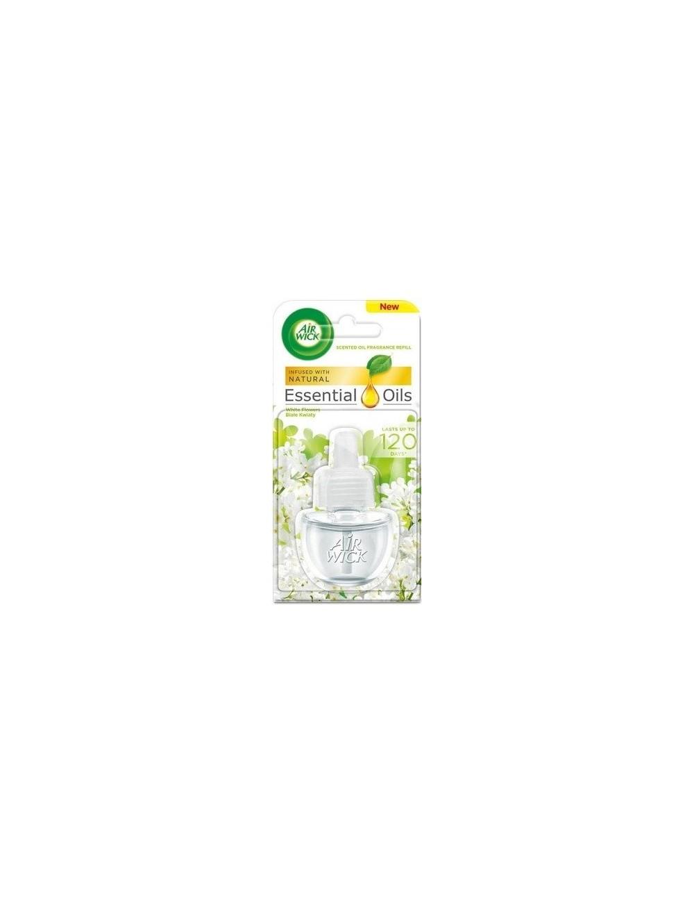 Air Wick Wkład do Elektrycznego Odświeżacza Powietrza Białe Kwiaty 19 ml