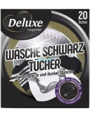 Deluxe Chusteczki do Prania Chroniące Czerń Wäsche Schwarz Tücher 20 szt (DE)