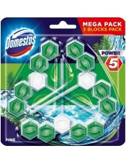 Domestos Zawieszka do WC Power-5 Sosna (3 x 55 g)