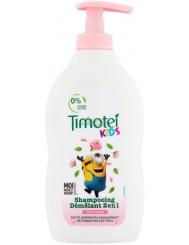 Timotei Szampon do Włosów dla Dzieci z Pompką 2-w-1 Róża Minion 400 ml