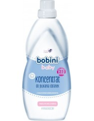 Bobini Baby Hipoalergiczny Koncentrat do Płukania Ubranek 1 L (25 prań) - z mleczkiem bawełnianym, od pierwszych dni życia