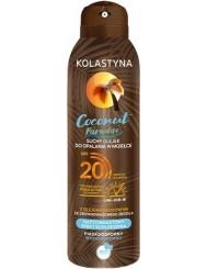 Kolastyna Olejek do Opalania w Mgiełce Suchy Spray SPF20 Coconut Paradise 150 ml
