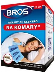 Bros Wkłady do Elektro na Komary 20 wkładów + 10 szt gratis