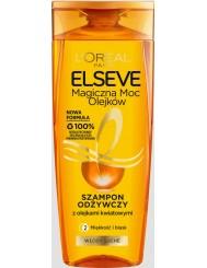 Elseve Magiczna Moc Olejków Szampon Odżywczy do Włosów Suchych, Niezdyscyplinowanych 400 ml