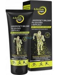4Active Balsam Łagodzący po Goleniu i Depilacji dla Mężczyzn Aktywnych Fizycznie 200 ml