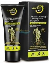 4Active Krem Likwidujący Szorstką i Suchą Skórę Stóp dla Mężczyzn Aktywnych Fizycznie 75 ml
