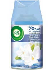 Air Wick Zapas do Automatycznego Odświeżacza Powietrza Orzeźwiająca Bawełna i Kwiat Migdałowca 250 ml