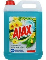 Ajax Floral Fiesta Kwiaty Laguny Płyn Czyszczący Wszystkie Powierzchnie 5 L