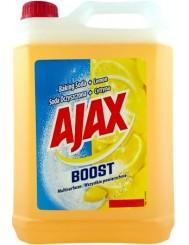Ajax Boost Soda Oczyszczona + Cytryna Płyn Czyszczący do Wszystkich Powierzchni 5L