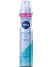 Nivea Lakier do Włosów Volume Care Podwójna Objętość Extra Mocny 250 ml
