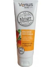 Venus Balsam do Ciała Masło Mango, Ekstrakt z Mięty, Olej Lniany Nature 250 ml - regeneruje i odżywia