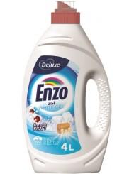 Deluxe Enzo Żel do Prania Tkanin Jasnych i Białych 2-w-1 4 L (100 prań) (DE, GB)