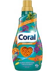 Coral Żel do Prania Tkanin Kolorowych Kwiatowy Secret Garden 1,1 L (22 prania) (DE)