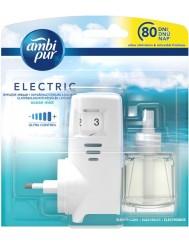 Ambi Pur Elektryczny Odświeżacz Powietrza z Regulacją Mocy Zapachu Dyfuzor + Wkład Ocean Mist 20 ml