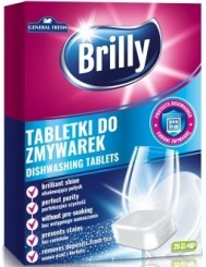 General Fresh Tabletki do Zmywarek Brilly 25 szt