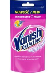 Vanish Odplamiacz do Białych i Kolorowych Tkanin w Płynie Saszetka Oxi Action Pink 100 ml