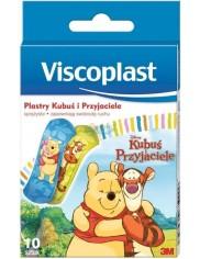 Viscoplast Plastry dla Dzieci Sprężyste z Klejem Hipoalergicznym Kubuś i Przyjaciele (72 x 25 mm) 10 szt
