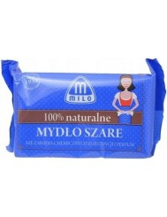Milo Mydło Szare w Kostce 100% Naturalne 175 g - bez chemicznych substancji i perfum