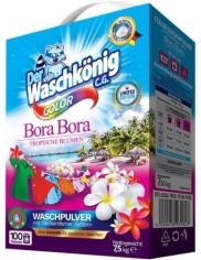 Waschkönig Proszek do Tkanin Kolorowych Tropikalne Kwiaty Bora Bora 7,5 kg (100 prań) (DE)