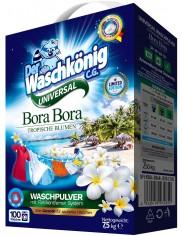 Waschkönig Proszek Uniwersalny do Tkanin Tropikalne Kwiaty Bora Bora 7,5 kg (100 prań) (DE)