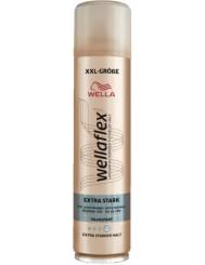 Wellaflex Lakier do Włosów 4 Extra Mocny XXL 400 ml (DE)