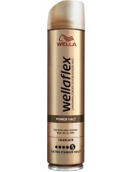 Wellaflex Lakier do Włosów 5 Ultra Mocny Power Halt 250 ml (DE)