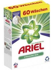 Ariel Proszek do Prania Uniwersalny Strahlend Rein 3,9 kg (60 prań) (DE)