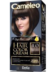 Cameleo Farba do Włosów Trwale Koloryzująca 4.0 Średni Brąz 1 szt