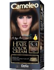 Cameleo Farba do Włosów Trwale Koloryzująca 5.3 Jasny Złoty Brąz 1 szt